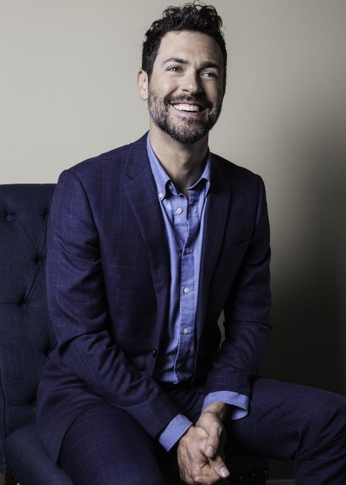 Brendan Hines as seen a picture taken in December 2017