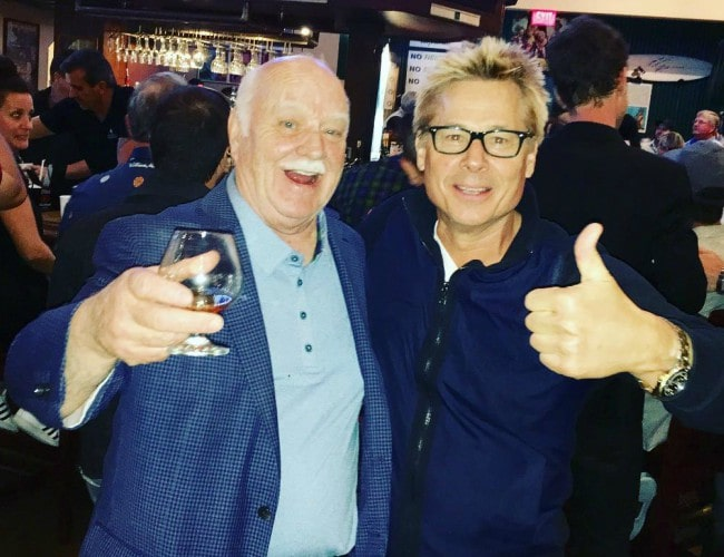 Brian Doyle-Murray (Left) and Kato Kaelin as seen in July 2018