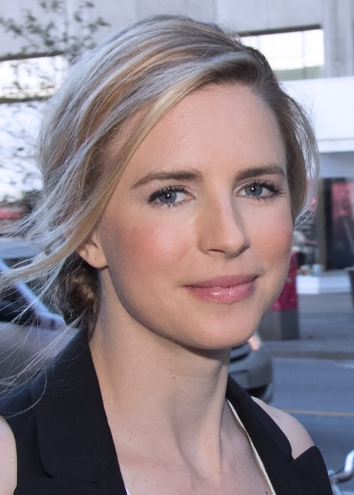 Brit Marling as seen in a picture taken at the Toronto International Film Festival in September 2014