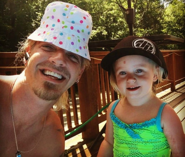 Bucky Covington in a selfie with his daughter as seen in June 2017