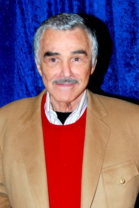 Burt Reynolds as seen at Hollywood Blvd Cinema located in Woodridge, DuPage County, Illinois, United States in April 2011