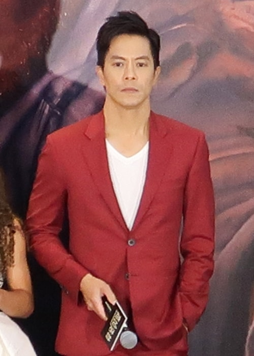 Byron Mann as seen in a picture in July 2018