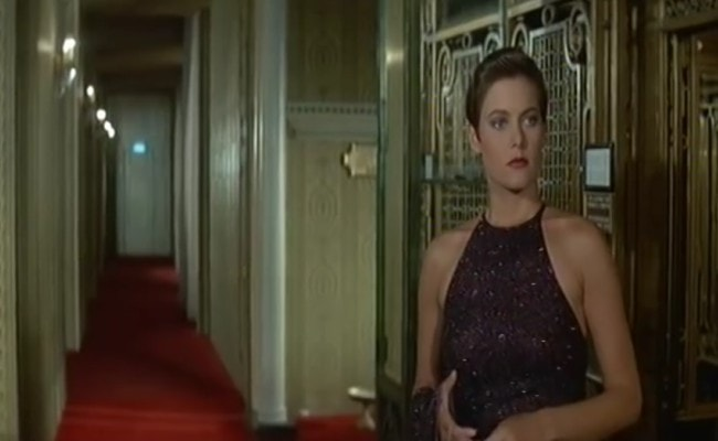 Carey Lowell in a still from her 1989 film Licence to Kill