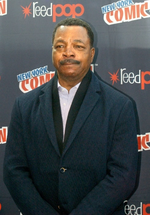 Carl Weathers as seen while posing for the camera during the promotion of the series, 'Explosion Jones', in October 2017