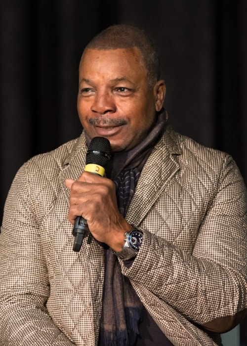 Carl Weathers as seen while speaking at the Calgary Comic Expo in April 2015