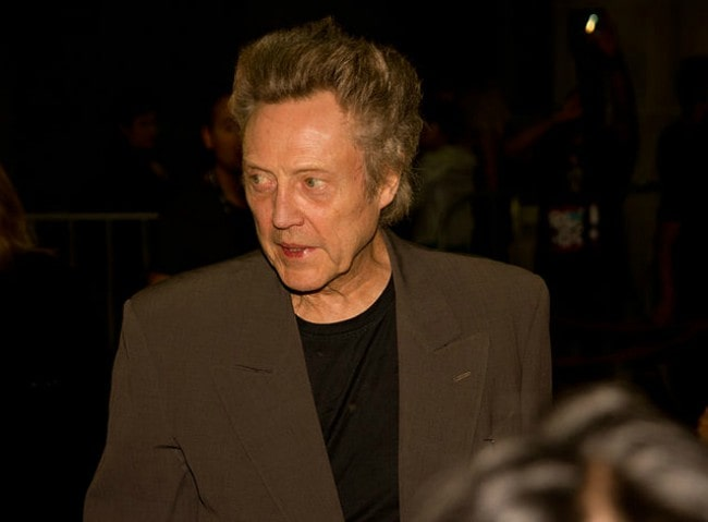 Christopher Walken at the 2012 Toronto Film Festival