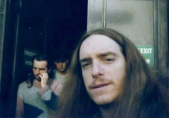 Cliff Burton in a selfie