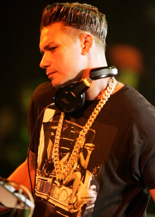 DJ Pauly D as seen in a picture taken during his performance at The Big Top Luna Park Sydney in January 2013