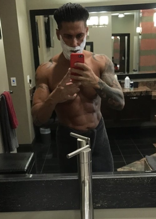 DJ Pauly D as seen in a selfie taken in September 2017