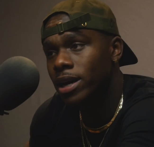 DaBaby as seen while giving an interview at The Kno Show in May 2018