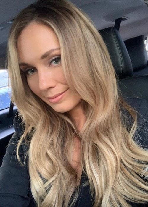 Danielle Rose Collins as seen in August 2019