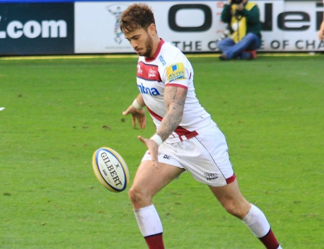 Danny Cipriani during a match in October 2013