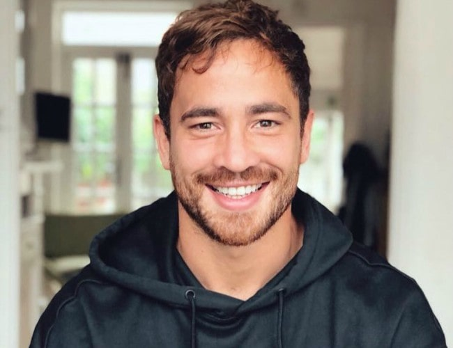 Danny Cipriani in an Instagram post as seen in September 2018