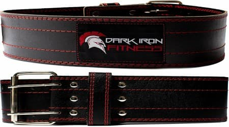 Dark Iron Fitness Leather Weightlifting Belt Review
