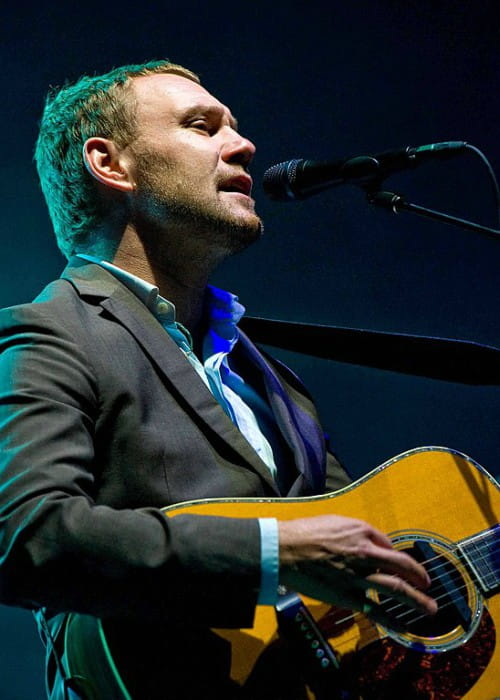 David Gray during a performance at Marymoor Park in 2010