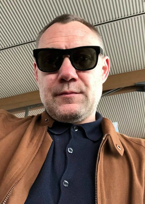 David Gray in an Instagram selfie as seen in July 2019