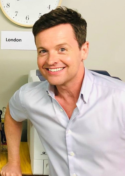 Declan Donnelly in an Instagram post as seen in November 2018