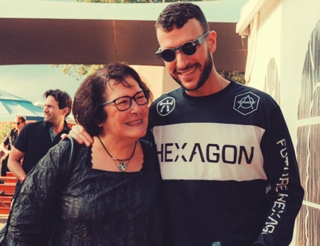 Don Diablo with his mother as seen in September 2019