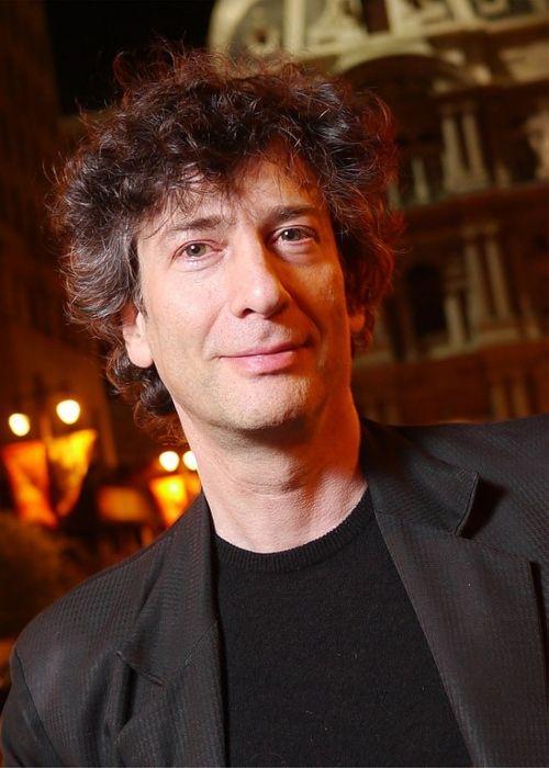 English author Neil Gaiman