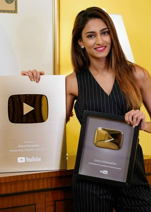 Erica Fernandes in an Instagram post in October 2019