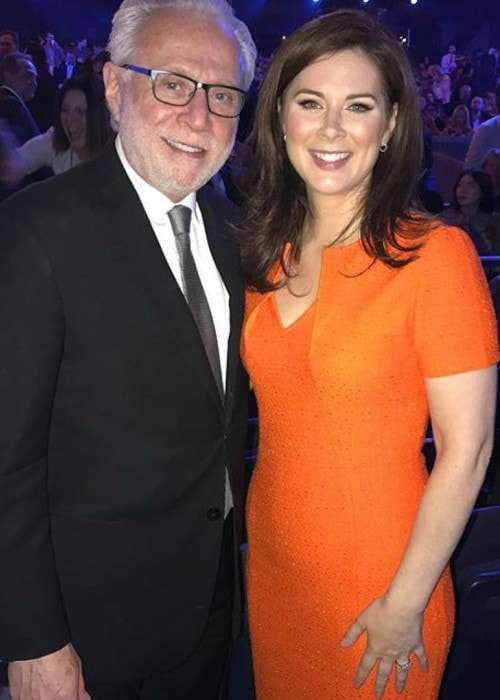Erin Burnett and Wolf Blitzer as seen in May 2017