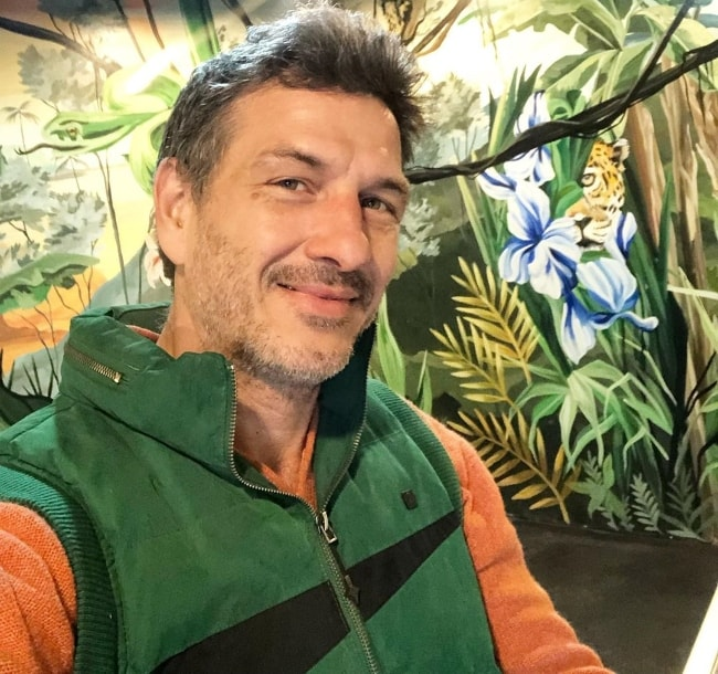 Federico Amador as seen while clicking a selfie in August 2019