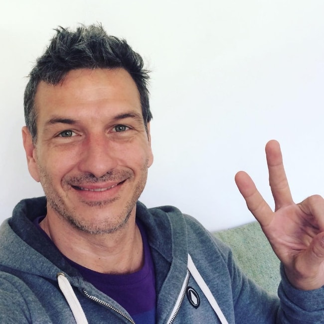 Federico Amador as seen while smiling for a selfie in August 2017