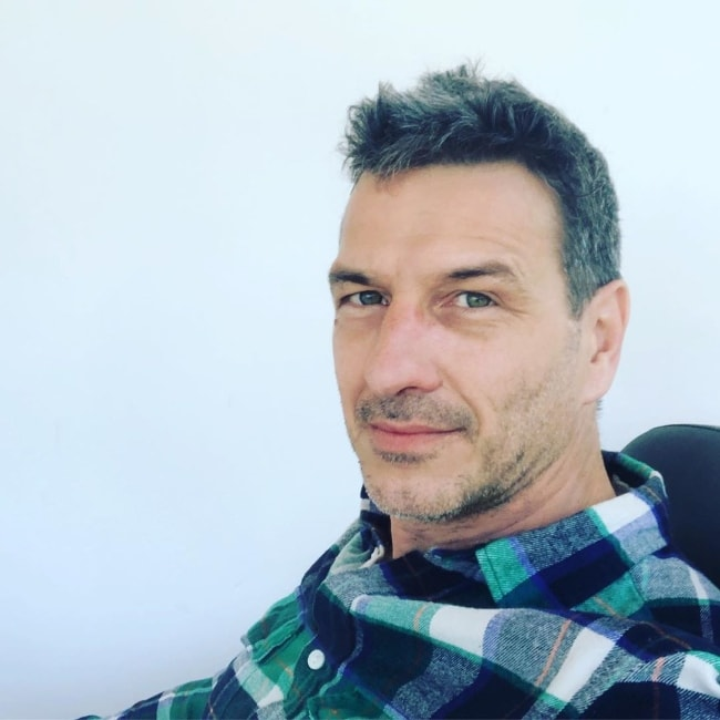 Federico Amador as seen while taking a selfie in September 2019