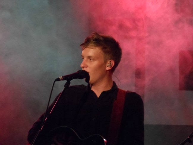 George Ezra during an event in June 2014