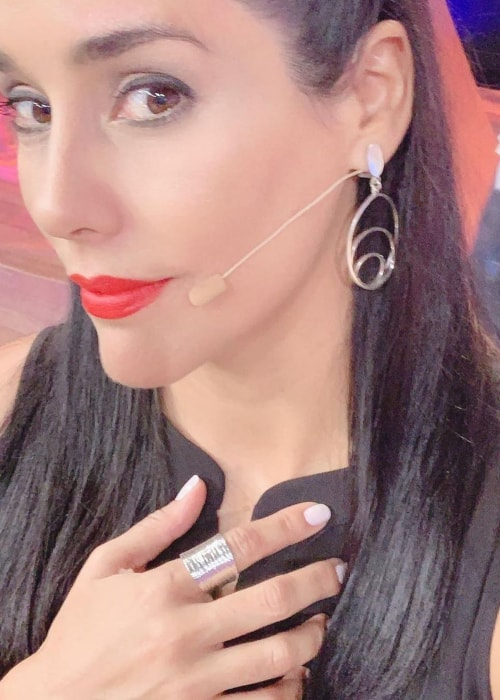 Gianella Neyra as seen in a selfie taken in May 2019