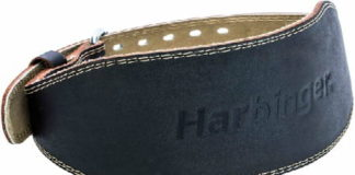 Harbinger Padded Leather Contoured Weightlifting Belt Review