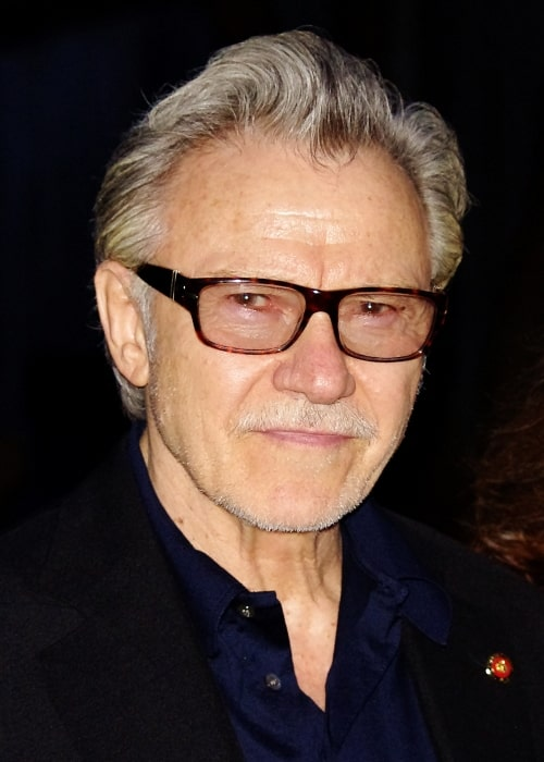Harvey Keitel as seen in a picture taken in April at the Vanity Fair party to kick off the 2012 Tribeca Film Festival