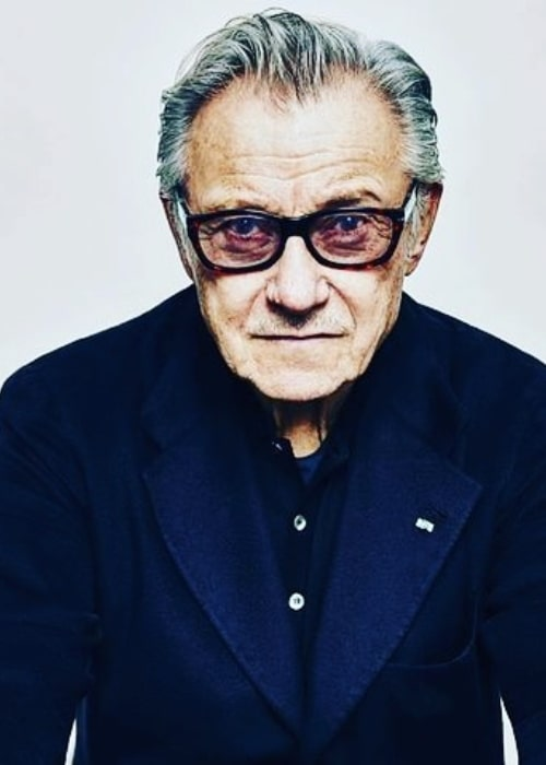 Harvey Keitel as seen in a picture taken in the past
