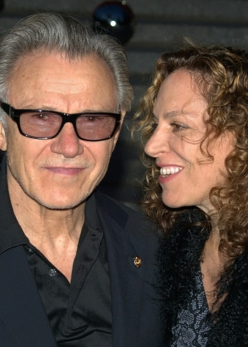 Harvey Keitel as seen in a picture with his wife Daphne Kastner taken in April at the 2010 Tribeca Film Festival