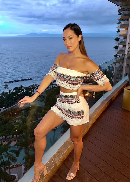 Hope Beel as seen while posing for a picture in Puerto Vallarta, Jalisco, Mexico in September 2019