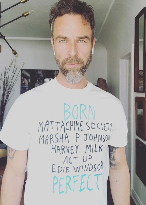 JR Bourne as seen in a picture taken at The Village Den located in New York City, New York, United States in June 2019