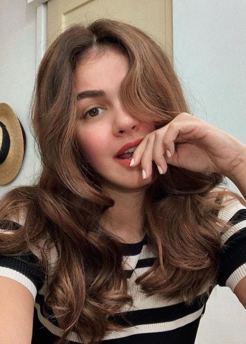 Janine Gutierrez as seen in a selfie taken in August 2019