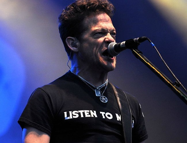 Jason Newsted during a performance at Rock am Ring in June 2013
