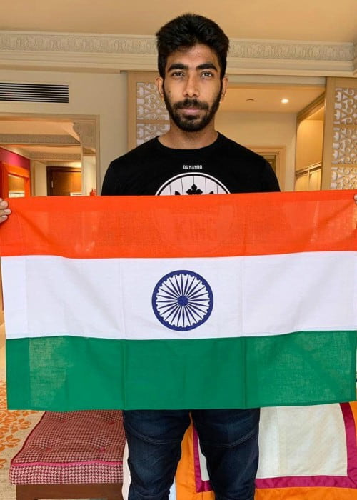 Jasprit Bumrah as seen in August 2019