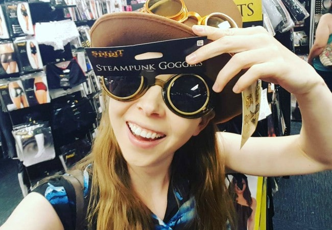 Jenny Nicholson in an Instagram selfie as seen in September 2016