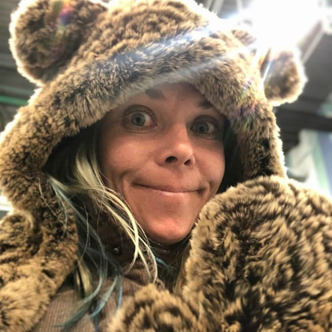 Jessi Combs in an Instagram selfie in December 2018