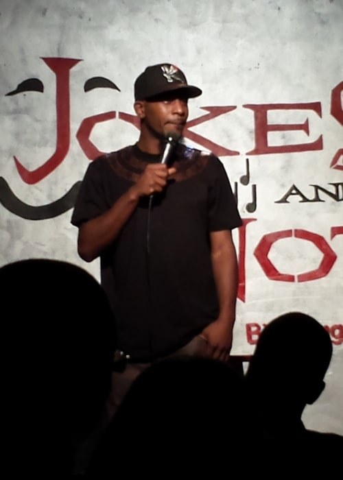 Karlous Miller as seen in a picture taken Jokes And Notes on August 8, 2013