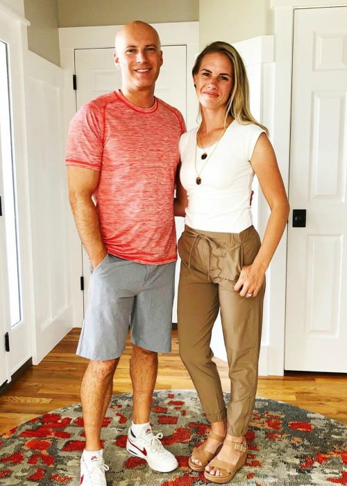 Kevin Franke and Ruby Franke as seen in August 2019