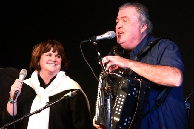 Linda Ronstadt as seen during an event along with David Hidalgo in June 2008