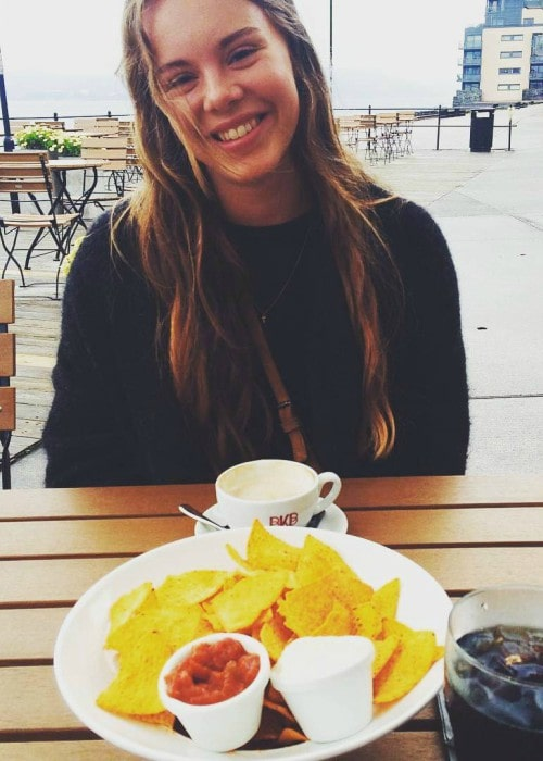 Lisa Teige in an Instagram post in January 2017