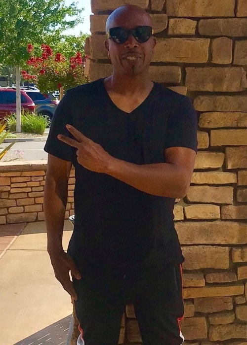 MC Hammer as seen in a picture taken in July 2019