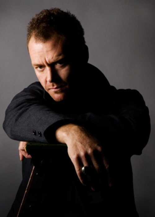 Marton Csokas as seen while posing for the camera while promoting his movie titled 'Romulus, My Father'
