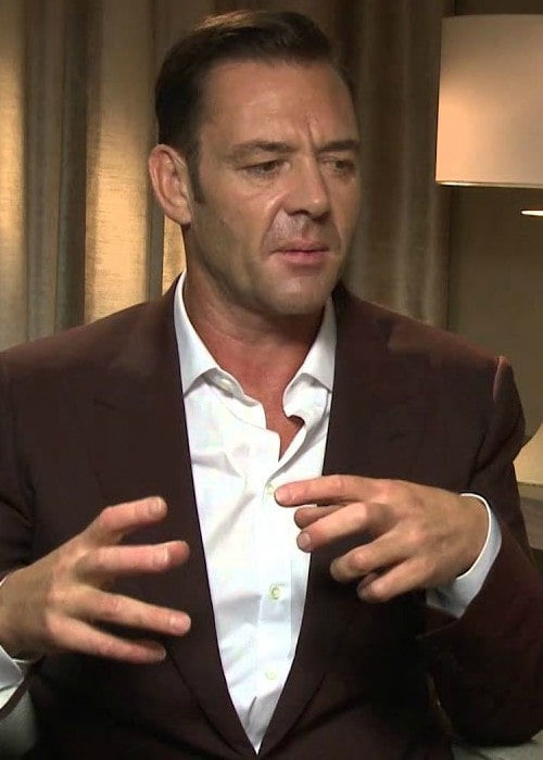 Marton Csokas during an interview as seen in September 2014