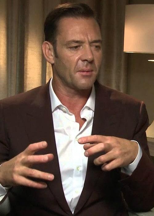 Marton Csokas during an interview as seen in September 2014