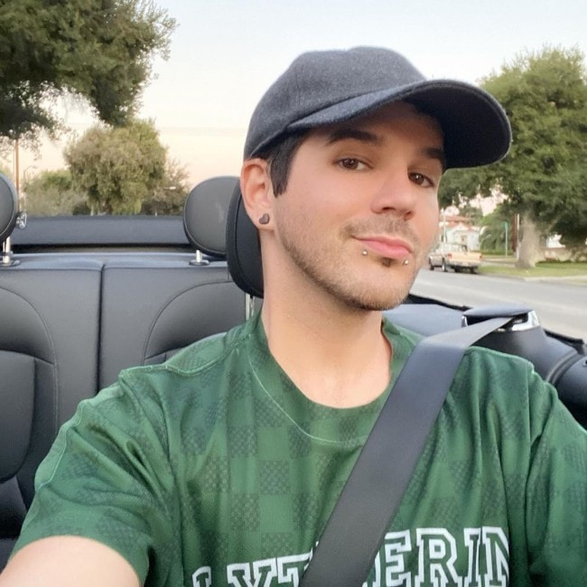 Matthew Lush as seen in October 2019